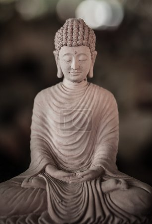 Photo pour Statue de Budda. Indonésie - Bali . - image libre de droit