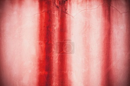 Texture of the striped walls, red