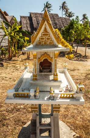 Miniature buddhist temple
