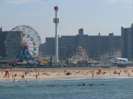 BROOKLYN, NEW YORK - JUN 16: Coney Island known fo...