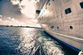 Vista da una nave da crociera