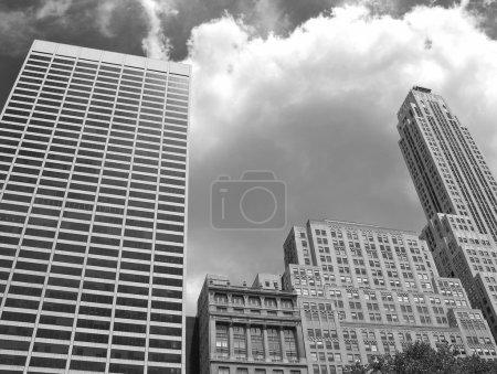 Photo pour Bâtiments de New York, États-Unis - image libre de droit