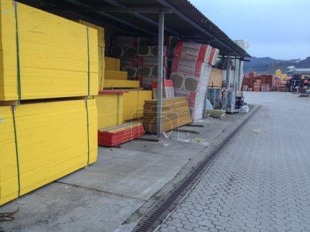 Entrepôt externe de bois