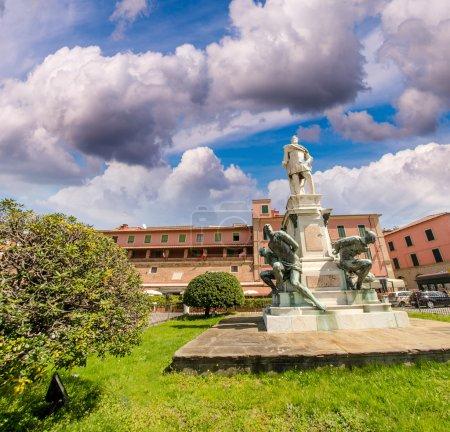 Monument of The Four Moors, I Quattro Mori in Leghorn - Livorno,