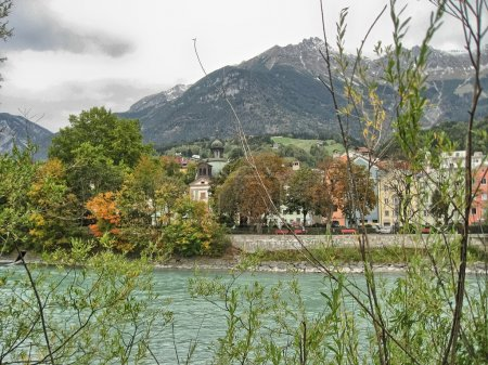 Classic Innsbruck homes with river Inn view