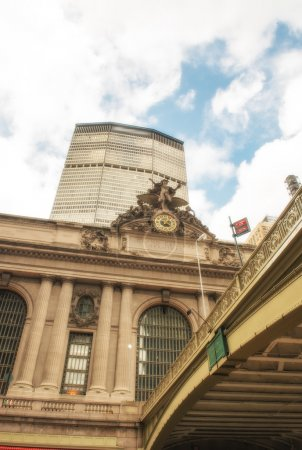 Exterior of Grand Central Terminal in New York City