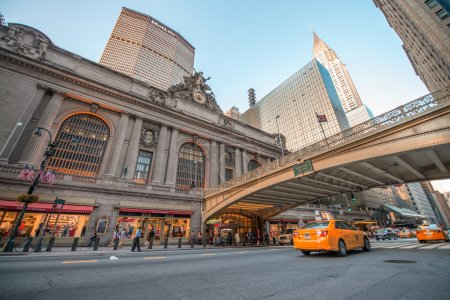 NEW YORK CITY - JUN 8: Historic NYC, Grand Central Terminal as s