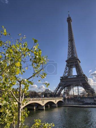 Photo pour Paris. la tour eiffel en hiver. la tour eiffel. - image libre de droit