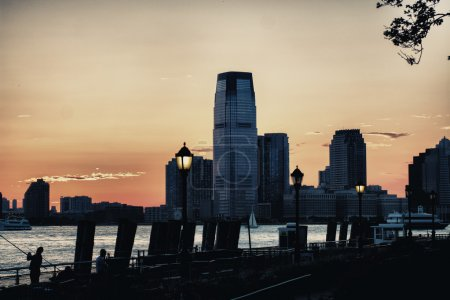 Jersey City at Dusk, New Jersey