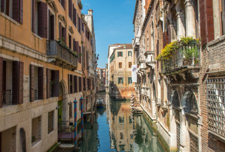 Beautiful Venice Canal.