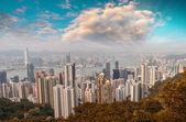 "Постер, картина, фотообои ""Гонконг"""