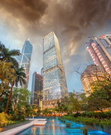 Hong Kong - Skyscrapers