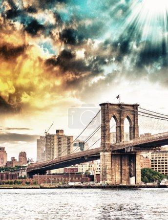 Photo for Brooklyn Bridge - Royalty Free Image