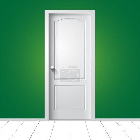 Door. Vector illustration