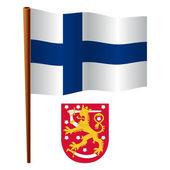 finland wavy flag
