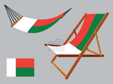 madagascar hammock and deck chair