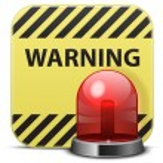 Vector warning icon...