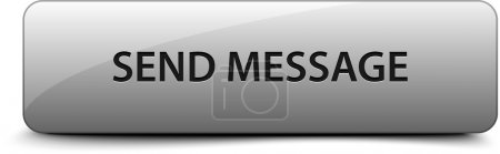 Send message grey vector button