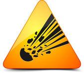 Meteor veszély jele