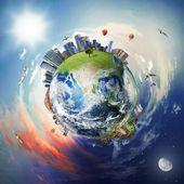 """Постер, картина, фотообои """"мировой бизнес"""""""