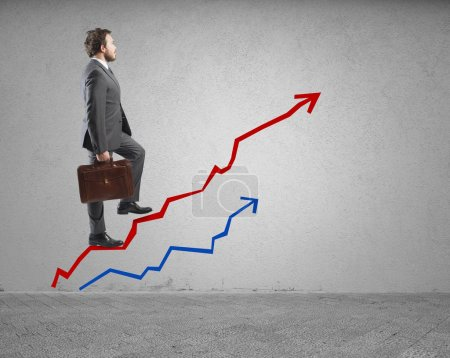 Success and determination in business