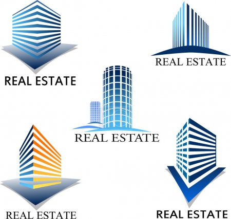Illustration for Building icon set - Royalty Free Image