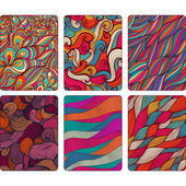Fashion tablet skins. Modern abstract backgrounds with wave line
