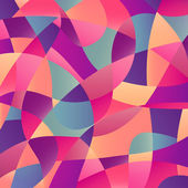 Abstract pattern with geometric motifs
