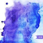 Vector watercolor texture Grunge paper template Wet paper Blo
