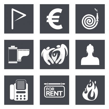 Icons for Web Design set 18