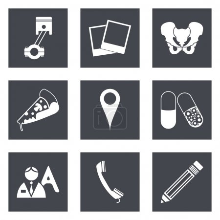 Icons for Web Design set 23