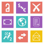 Color icons for Web Design set 32