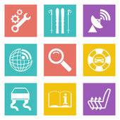 Color icons for Web Design set 39