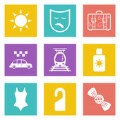 Color icons for Web Design and Mobile Applications set 41 Vector illustration