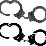 Handcuffs. vector illustration...