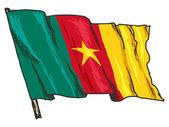 Vlajka Kamerunu