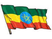 Etiopská vlajka