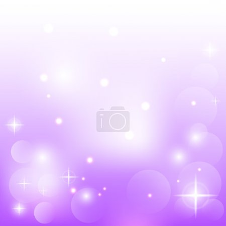 Illustration for Abstract purple background with stars - Royalty Free Image