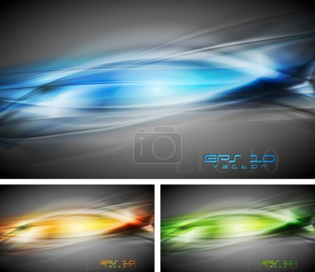 Illustration for Colourful abstract backgrounds. Vector illustration eps 10 - Royalty Free Image