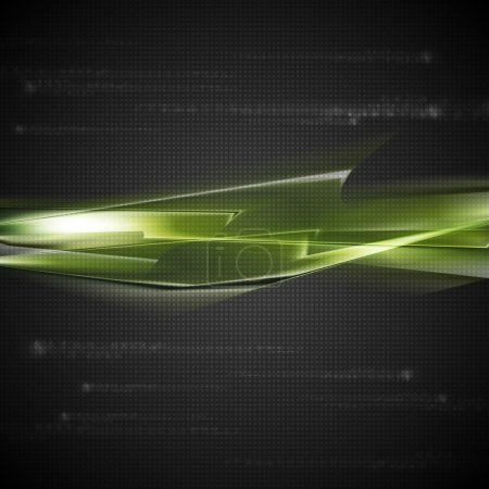 Dark green vector background