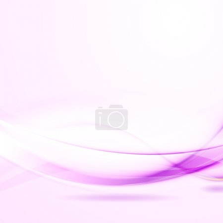 Illustration for Abstract shiny wavy background. Vector design eps 10 - Royalty Free Image