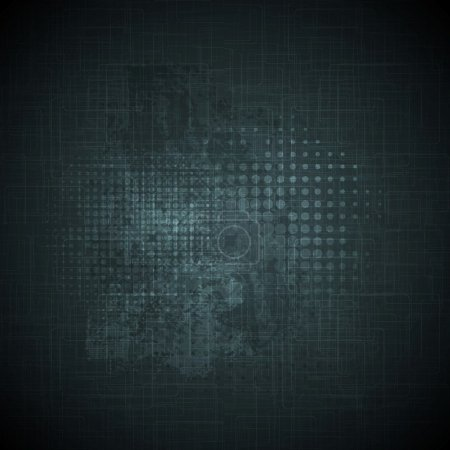 Illustration for Dark grunge vector texture background - Royalty Free Image
