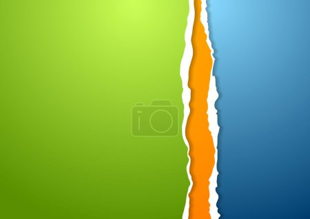 Abstract ragged edge paper background