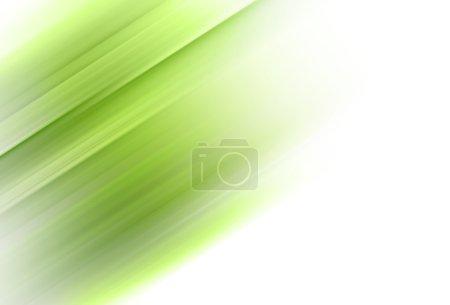 Photo pour Mouvement vert abstrait fond horizontal - image libre de droit