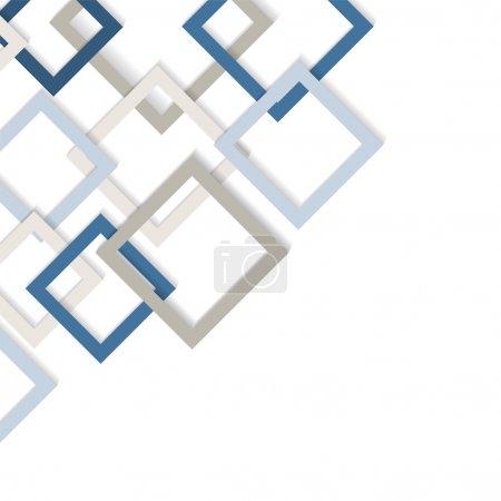 Illustration for Business geometric background - Royalty Free Image
