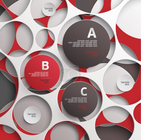 Illustration for Abstract vector background - Royalty Free Image