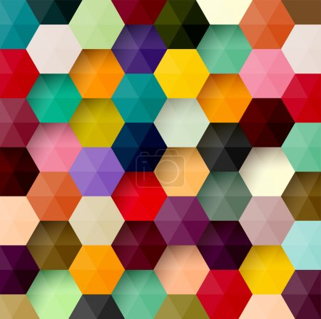 Illustration for Abstract background. Colorful vector. - Royalty Free Image