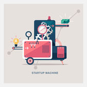 Startup machine