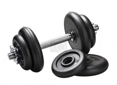 Dumbbell and barbell discs