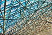 Fragment pozadí futuristické střecha